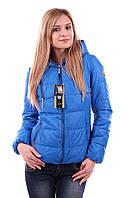 Женская куртка. Голубая