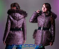 Теплое зимнее пальто, подростковая куртка из плащевки