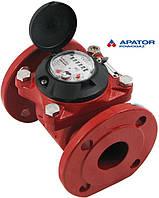 Счетчик Apator PoWoGaz MWN 130-50 (ГВ) горячей воды турбинный Ду-50 сухоход промышленный