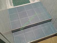 Антискользящий ковер-решетка «Гидро» цвет серый для бассейнов и влажных помещений коврик для душа цена
