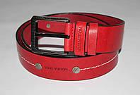 Ремень кожаный мужской Louis Vuitton 05