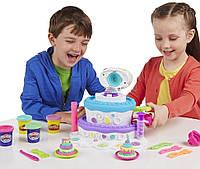 """Пластилин Play-Doh (Плей до) Игровой набор """"Праздничный торт"""" Hasbro (Хасбро)"""