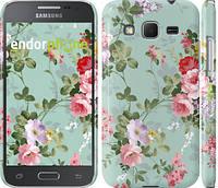 """Чехол на Samsung Galaxy Core Prime G360H Цветочные обои 2 """"862c-76"""""""
