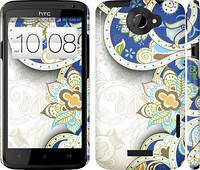 "Чехол на HTC One X+ Узор v8 ""1842c-69"""