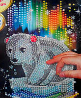 "Картина из пайеток ""Мишка"", Арт. 4747"