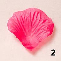 Искусственные лепестки роз (насыщенный розовый) №2