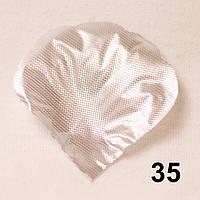 Искусственные лепестки роз (серебристый) №35