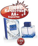 Antonio Banderas Splash BLUE seduction Хорватия Люкс качество АА+++  Антонио Бандерас Сплэш Блю Седакшн
