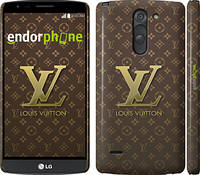 "Чехол на LG G3 Stylus D690 Louis Vuitton 2 ""455c-89"""