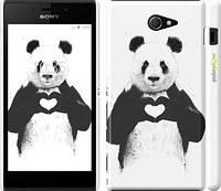 "Чехол на Sony Xperia M2 dual D2302 All you need is love ""2732c-61"""