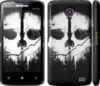 "Чехол на Lenovo A820 Call of Duty череп ""150c-68"""