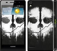 """Чехол на Huawei Ascend P6 Call of Duty череп """"150c-39"""""""