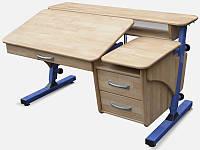 Стол для школьника Регулируемый Дуб