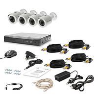 AHD Комплект видеонаблюдения для быстрой установки Tecsar 4OUT LUX