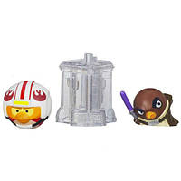 Игровой набор из 2-х фигурок Angry Birds Star Wars TelePods. Оригинал Hasbro
