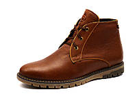 Ботинки Samas OneCrown, мужские, натуральная кожа, на меху, коричневые, фото 1