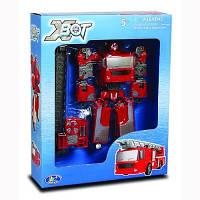 Робот трансформер Пожарная машина X-bot 80040R