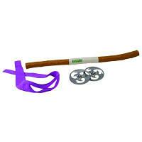 Набор игрушечного оружия серии черепашки-ниндзя - боевое снаряжение Донателло 92032 (шест бо, 2 сюрикена)