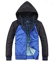 Осенние двусторонние мужские куртки NIKE 2XL-4XL! Красивые куртки. Верхняя одежда. Мужские куртки. Код: КЕ214
