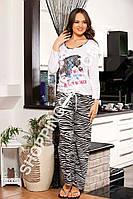 Женская пижама Shirly 4813, костюм домашний с брюками