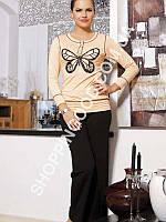 Женская пижама Shirly 4816, костюм домашний с брюками