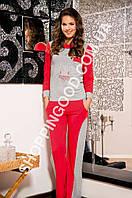 Женская пижама Shirly 4841, костюм домашний с брюками