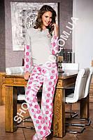 Женская пижама Shirly 4838, костюм домашний с брюками