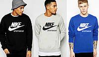 Кофта толстовка мужская свитшот реглан батник Nike sportswear