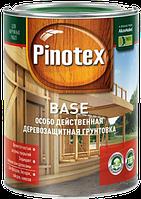 Грунтовка антисептик для древесины от грибков Pinotex Base 1л