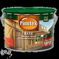 Грунтовка антисептик для защиты от грибков Pinotex Base 10л