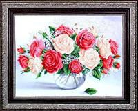 Набор для вышивания бисером цветы. Пьянящий аромат МК Б-256
