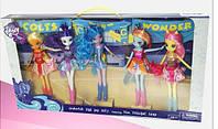 Кукла набор кукол My little Рony/ Девушки Литл Пони