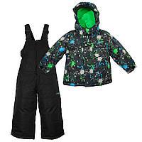 Куртка, полукомбинезон Gusti X-Trem 4780XWB Черно-зеленый Размеры на рост 92, 98, 104, 110, 116, 122, 134 см