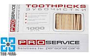 Зубочистки без индивид. упак. (1000 шт.) PROservice