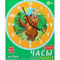 Пазл Умная бумага Часы Маша и медведь (126-02)