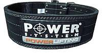 Пояс для пауэрлифтинга Power System Powerlifting