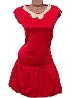 Яркие женские платья с заниженной талией (в расцветках)
