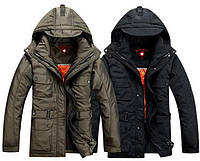 Куртка-пуховик мужская. Пуховик мужской. Куртки мужские зимние. Куртка-пуховик 2 в 1