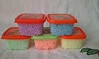 Пластилин шариковый крупнозернистый (в асортименте) 40 гр.