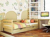 Кровать Нота 80х190 щит (другие размеры и цвета в описании товара)ТМ Эстелла