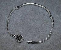 браслет Пандора с серебряным покрытием проба 925 20 см