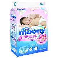 Подгузник Moony L (9-14кг) 54 шт (4903111244003)