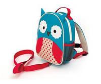 Рюкзак детский с поводком Сова(совушка)