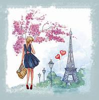 """Вышивка бисером """"Весна в Париже"""""""