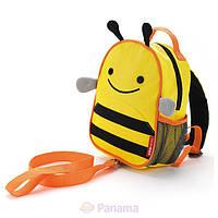Рюкзак детский с поводком Пчелка.