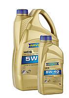 Масло моторное синтетическое RAVENOL (равенол) HCS  5W-40 4л.