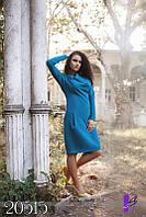 """Элегантное деловое платье батал """"Илона"""" мод НС726"""