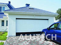 Секционные гаражные ворота Alutech филенка