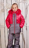 Детский комбинезон  для девочки, новинка зима 2016
