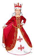 Детский карнавальный костюм Королева Код. 213